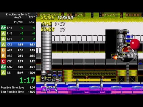 Sonic 2 & Knuckles Speedrun in 14:40 [Current World Record]