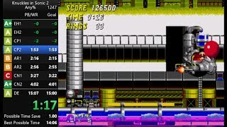 Sonic 2 & Knuckles any% Speedrun in 14:40 [Current World Record]