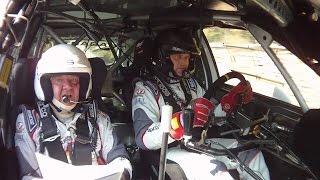 Camera Car Rally SPAVENTOSO OLTRE IL LIMITE