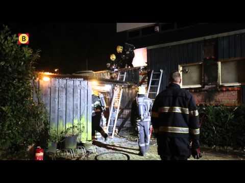 Brand bij Gay Sauna Tibet in Eindhoven, vermoedelijk aangestoken