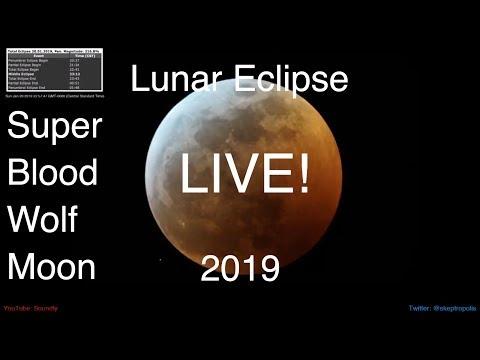 Lunar Eclipse 2019 🔴Live!