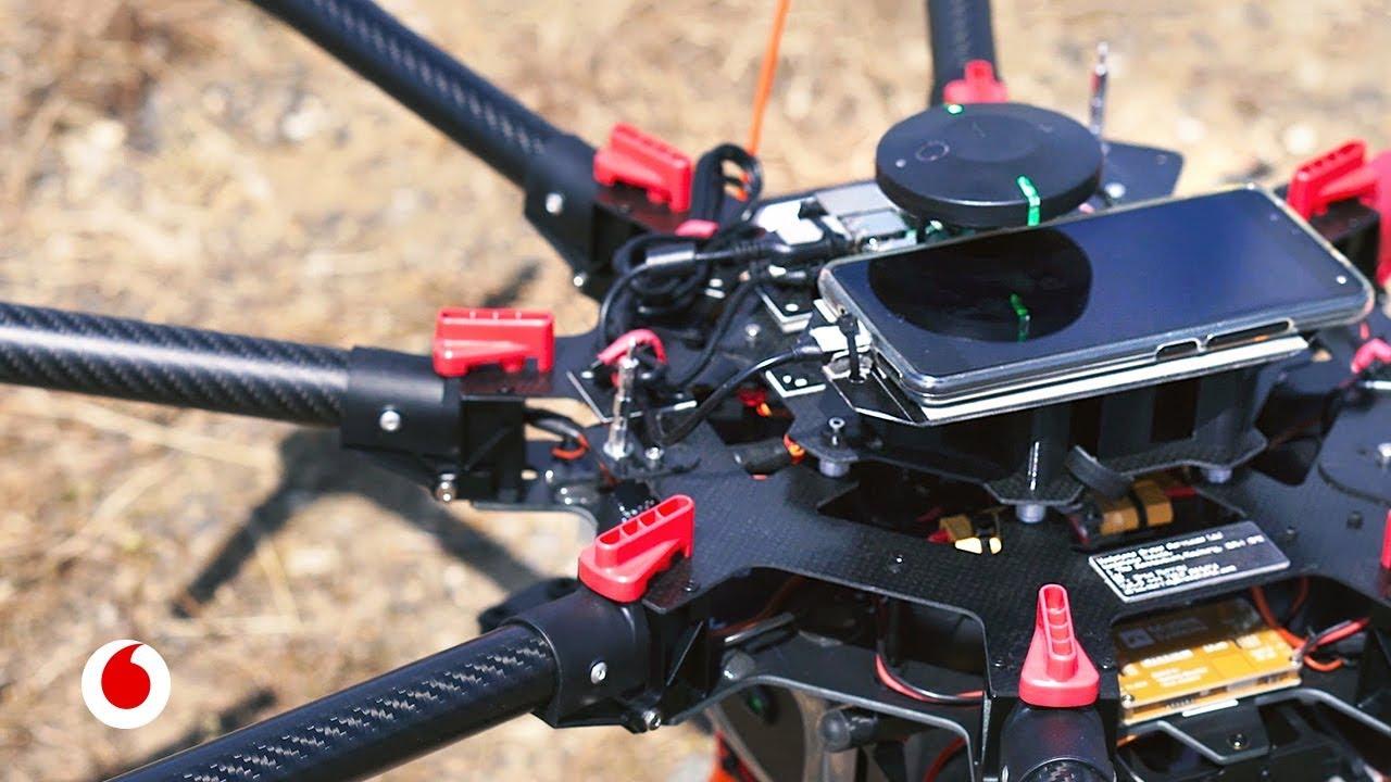 4G e inteligencia artificial para controlar el vuelo de drones