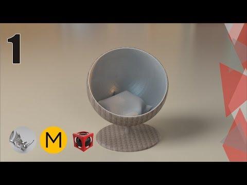 Tutorial Rhino 3D y Marvelous Designer | Modelar una sencilla silla (1/4)