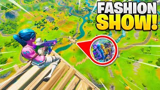 I STREAM SNIPED FASHION SHOWS with a SKYBASE! (insane)