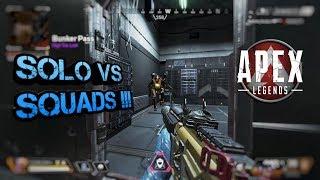 My fastest game EVER!! Solo vs squads! :: Apex Legends