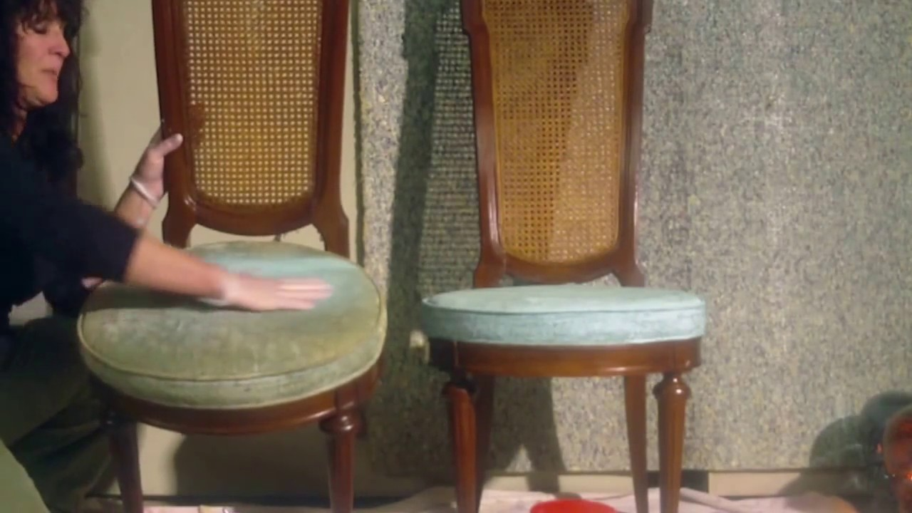 How To Dye Faded Upholstery On Chairs U0026 Furniture W/ Fabric Paint