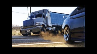5) GTA V - Трюки, Аварии и Приколы! (Stunts, Crashes and Fun!)(5) Серия. Очередной видео клип
