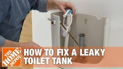 How to Fix a Leaky Toilet | How to Stop a Running Toilet Tank | The Home Depot