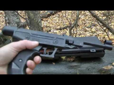 Пневм. пистолет Blow H-01 - обзор со стрельбой