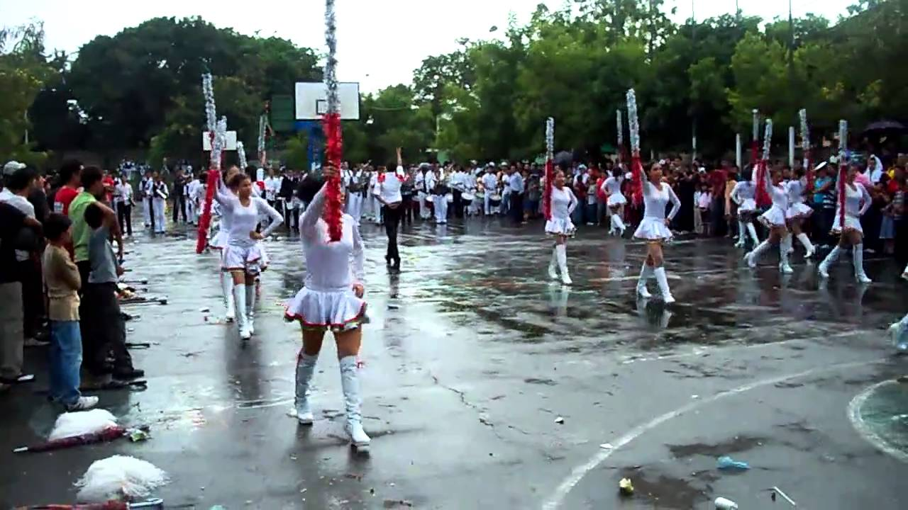 banda ritmica ramirez goyena en don bosco youtube
