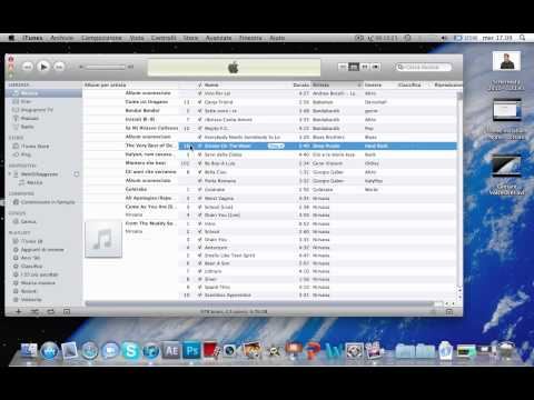 Trasferire musica da iTunes all'iPod