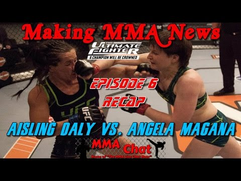 TUF 20 results and recap for Aisling Daly vs. Angela