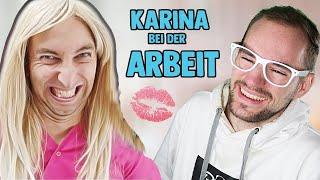 Karina bei der Arbeit - Schönheitssalon💉 | Freshtorge | REACTION