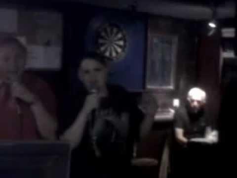 Timewarp at the local pub karaoke