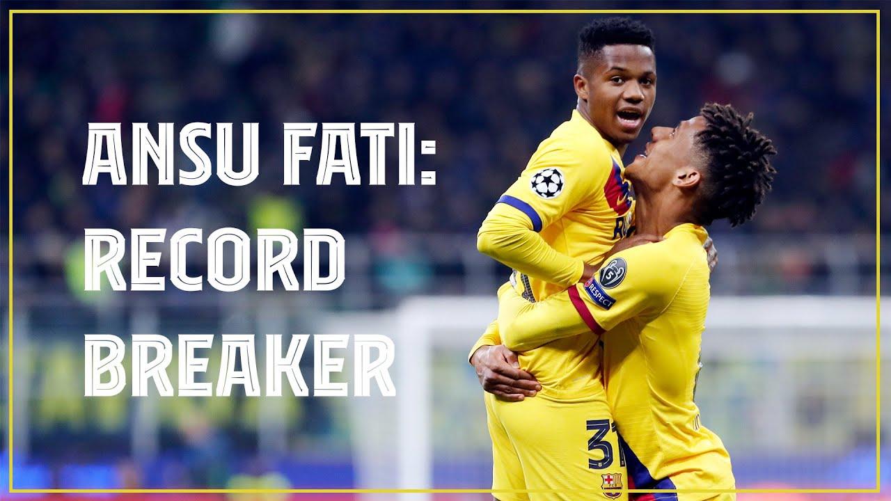 Ansu Fati, Pedri star as Barcelona ease to Champions League win ...