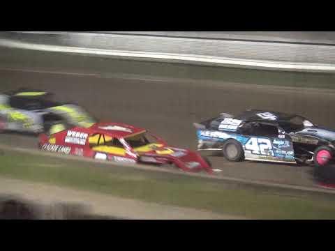 Bob Larson Shootout Sport Mod feature Lafayette County Speedway 9/15/18