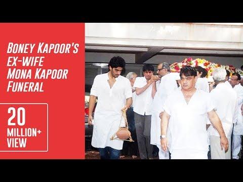 Boney Kapoor's ex-wife Mona Kapoor Funeral Mp3