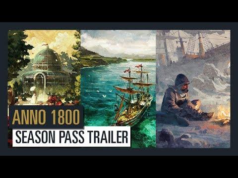 ANNO 1800 - SEASON PASS - TRAILER   Ubisoft [DE]