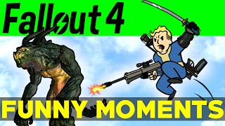 fallout 4 funny moments ep 4 fo4 funny moments mods fails kills fallout 4 funtage