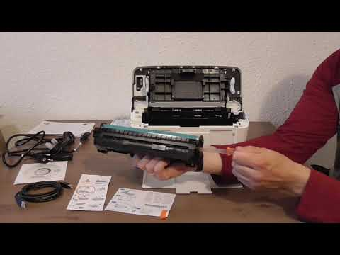 Hp LaserJet Pro M15w Unboxing Printer | Impresora