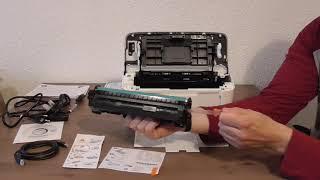 Hp LaserJet Pro M15w Unboxing Printer   Impresora