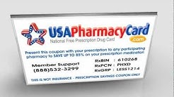 USA Pharmacy Prescription Savings Card