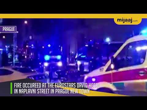 Two dead in hotel fire in Prague   Mijaaj News