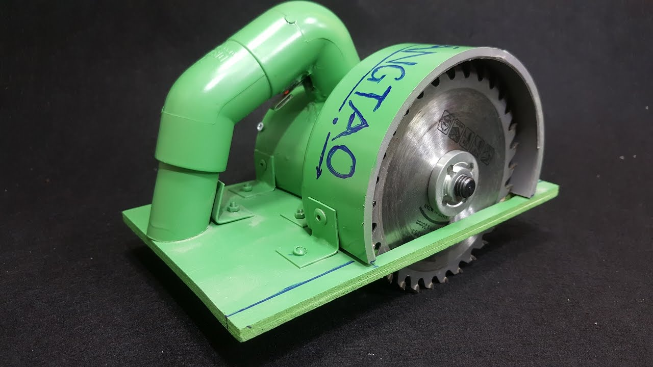 How to make a circular saw using 775 motor and pvc pipe youtube how to make a circular saw using 775 motor and pvc pipe greentooth Choice Image