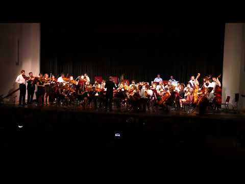 Rockport High School Symphony Orchestra - Hungarian Dance No. 5 by Johannes Brahms