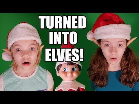 Touched Elf on the Shelf Needs His Magic Back 3! Turned Into Elves!