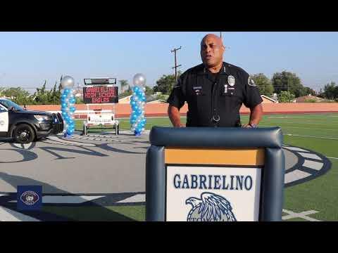 Congratulations Gabrielino High School Class of 2020 - San Gabriel Police Department