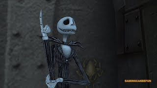 Kingdom Hearts 2 HD Final Mix MOVIE | Disney's Nightmare Before Christmas (HIGH FRAME RATE SERIES)