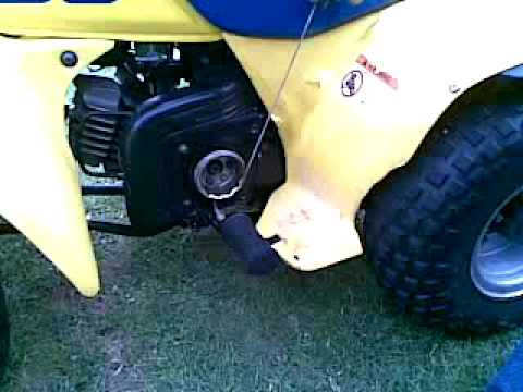 Suzuki Atv Pull Start