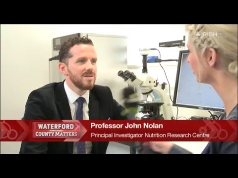 Irish TV Waterford Matters- Nutrition Research Centre Ireland
