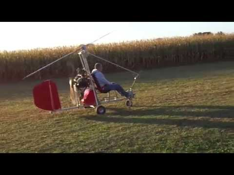 Gyrocopter, Autogiro Bensen B8M MRX.