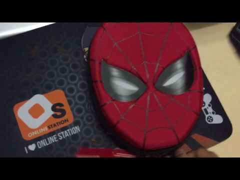 รีวิว:Spider-Man Zip-Up Stationery Kit