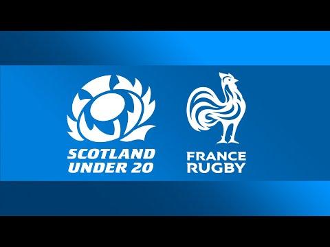 LIVE U20 Six Nations | Scotland V France