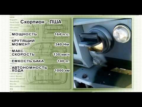 Тест-драйв - Камуфляж - Легкий штурмовой автомобиль «Скорпион»