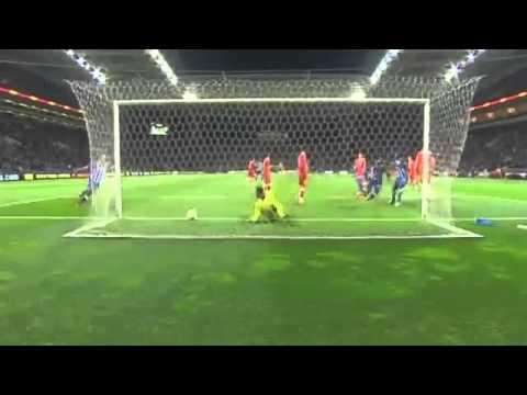 Eliaquim Mangala Goal ~ FC Porto vs Sevilla 1 0 ~ 03 04 2014 Europa League