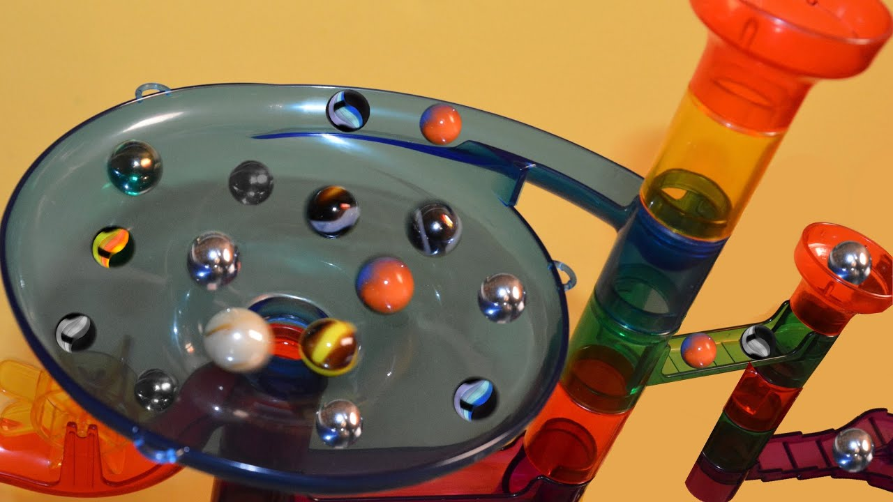 Toys For Marbles : Marble race slide by blutoys youtube