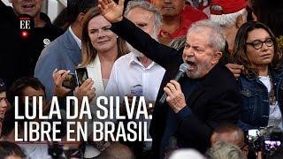 Expresidente Luis Inacio Lula Da Silva fue liberado por justicia brasileña - El Espectador