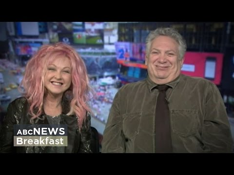 The true colours of Cyndi Lauper and Harvey Fierstein