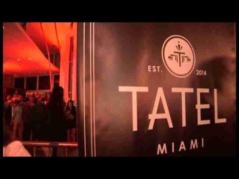 Enrique Iglesias y Rafael Nadal inauguran restaurante Tatel en Miami Beach