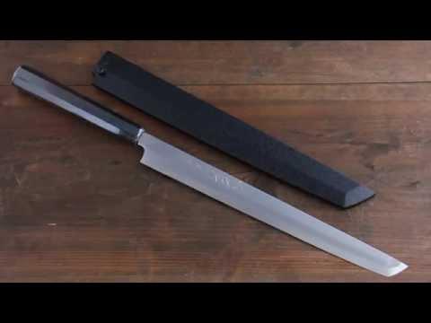 Sakai Takayuki Byakko white steel No.1 Takohiki Slicer Japanese knife