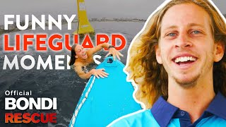 FUNNIEST Lifeguard Moments of Bondi Rescue Season 13
