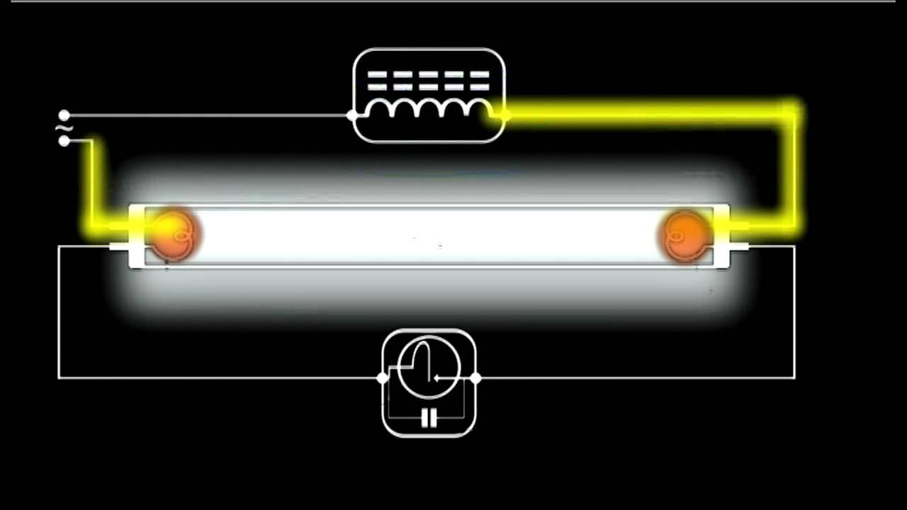How A Fluorescent Light Works