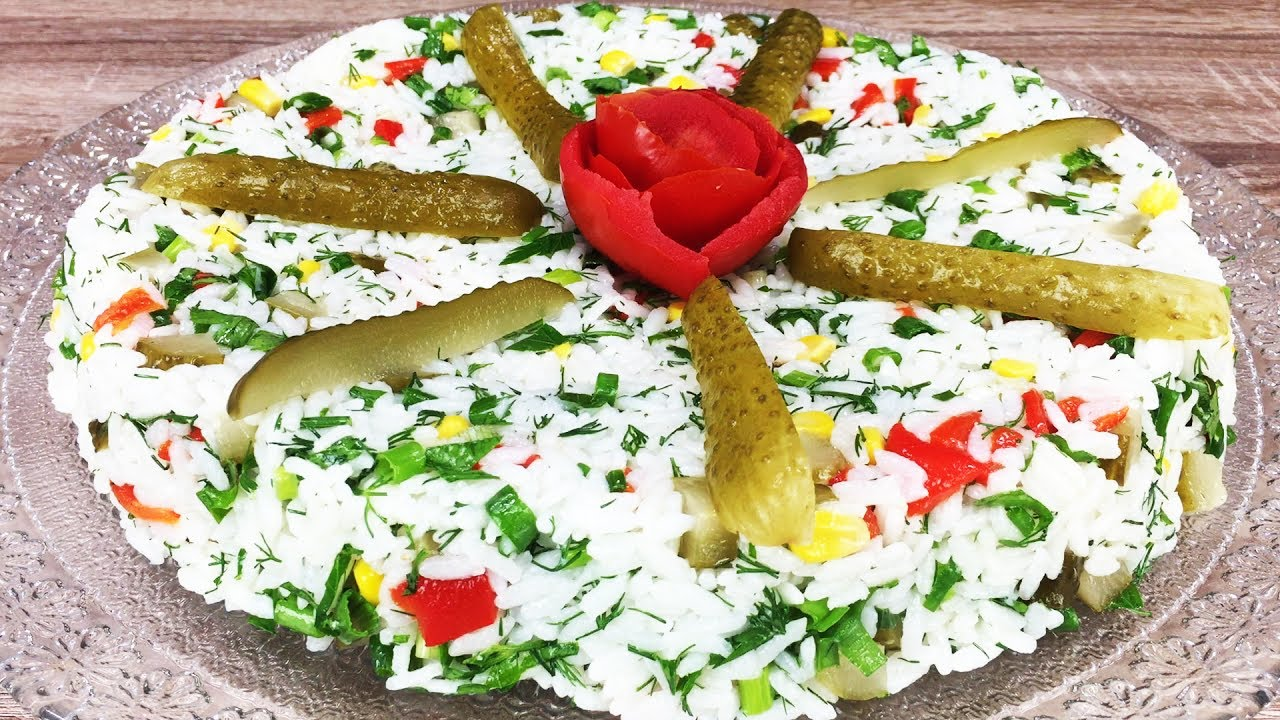 Pirinç Salatası Yapımı Videosu