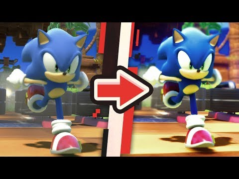 Sonic Forces : Cinematic Graphics