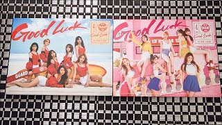 Unboxing | AOA 4th Mini Album - Good Luck (Week & Weekend Ver.)