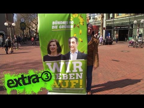Bündnis 90/Die Grünen: Wir geben auf! | extra 3 | NDR